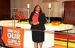 Rev. Dionne P. Boissiere - Bring Back Our Girls - 500 Days on August 27, 2015 - New York City, New York (Photo by Sue Coflin/Max Photos)