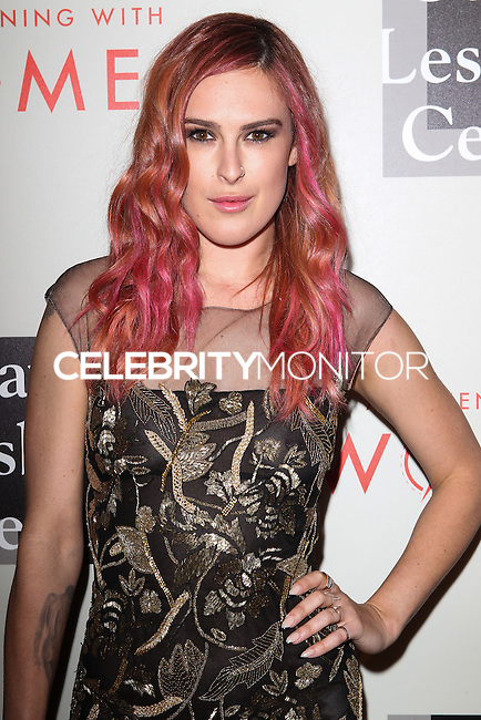 "BEVERLY HILLS, CA, USA - MAY 10: Rumer Willis at the ""An Evening With Women"" 2014 Benefiting L.A. Gay & Lesbian Center held at the Beverly Hilton Hotel on May 10, 2014 in Beverly Hills, California, United States. (Photo by Celebrity Monitor)"