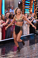 "Karen Clifton<br /> at the launch of ""Strictly Come Dancing"" 2018, BBC Broadcasting House, London<br /> <br /> ©Ash Knotek  D3426  27/08/2018"