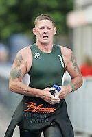 02 SEP 2007 - HAMBURG, GER - Murray O'Donnell (IRL) - World Age Group Triathlon Championships. (PHOTO (C) NIGEL FARROW)