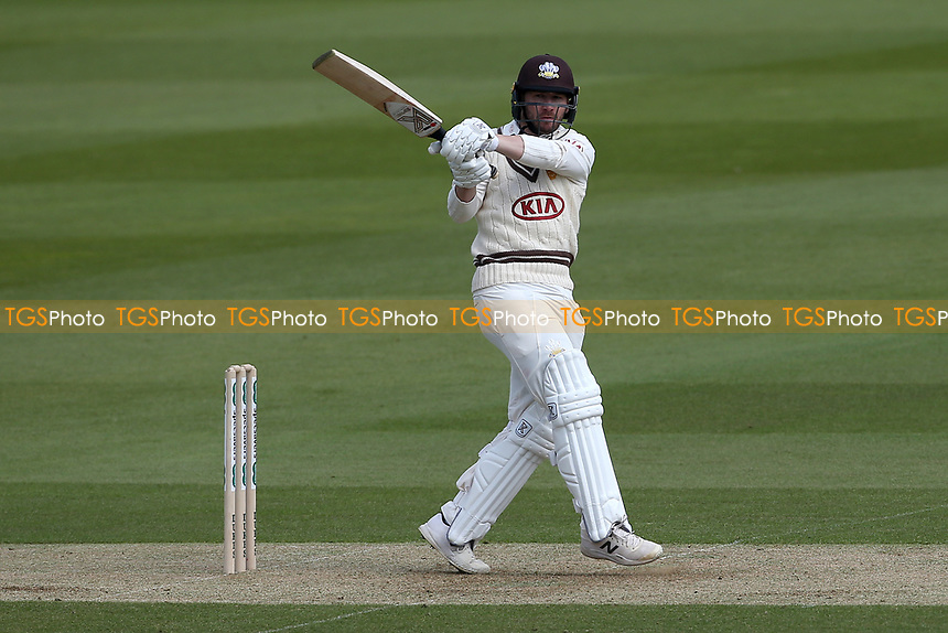 Mark Stoneman hits out for Surrey during Surrey CCC vs Essex CCC, Specsavers County Championship Division 1 Cricket at the Kia Oval on 11th April 2019