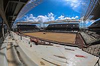 CUIABÁ, MT, 19.11.2013 - COPA 2014 - OBRAS - ARENA PANTANAL - Vista do canteiro de obras da Arena Pantanal em Cuiabá no Mato Grosso, nesta terca-feira, 19. (Foto: William Volcov / Brazil Photo Press).