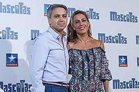 Spanish periodist Vicente Valles and Angeles Blanco during the premiere of  Mascotas at Kinepolis cinema in Madrid. July 21, 2016. (ALTERPHOTOS/Rodrigo Jimenez) /NORTEPHOTO.COM