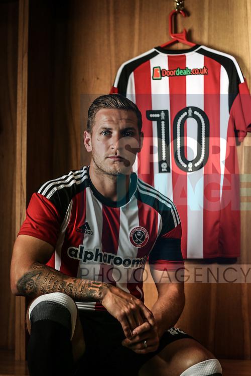Billy Sharp Sheffield Utd,  27th July 2016
