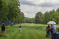 Ceilia Barquin Arozamena (a)(ESP) watches her tee shot on 10 during round 2 of the U.S. Women's Open Championship, Shoal Creek Country Club, at Birmingham, Alabama, USA. 6/1/2018.<br /> Picture: Golffile | Ken Murray<br /> <br /> All photo usage must carry mandatory copyright credit (&copy; Golffile | Ken Murray)