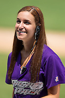 at BB&T Ballpark on July 30, 2014 in Winston-Salem, North Carolina.  The Dash defeated the Keys 12-2.   (Brian Westerholt/Four Seam Images)