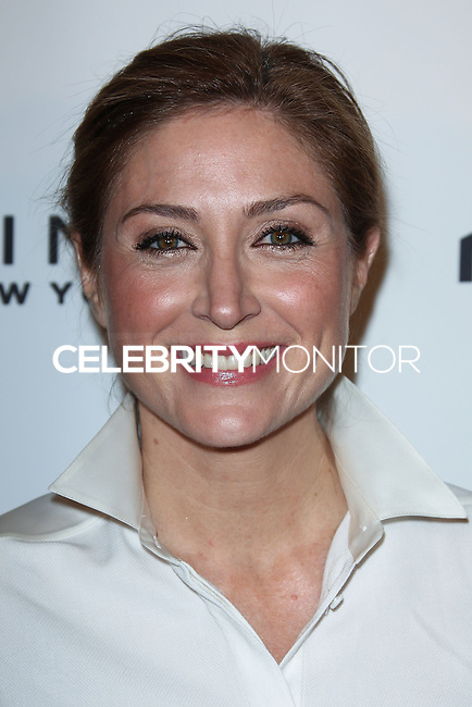 WEST HOLLYWOOD, CA, USA - APRIL 08: Sasha Alexander at the Marie Claire Fresh Faces Party Celebrating May Cover Stars held at Soho House on April 8, 2014 in West Hollywood, California, United States. (Photo by Celebrity Monitor)