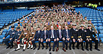 Rangers management and staff welcome the armed forces to Ibrox this afternoon