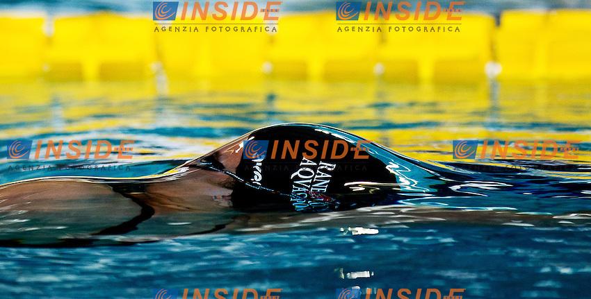 Giulia Negrini Aqvasport Rane Rosse.100 dorso donne.Campionati Italiani Assoluti Nuoto Primaverili.Riccione  9 - 13/04/2013.Day01 batterie.Photo Giorgio Scala/Deepbluemedia/Insidefoto