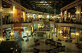 Manaus, Amazonas State, Brazil. Interior of the Amazonas Shopping Centre.