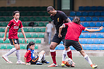 Phil Babb at a morning training session with Hong Kong children for the launch of the Premier League Asia Trophy 2017 at the Hong Kong Football Club on 01 June 2017 in Hong Kong, China Photo by Chris Wong / Power Sport Images