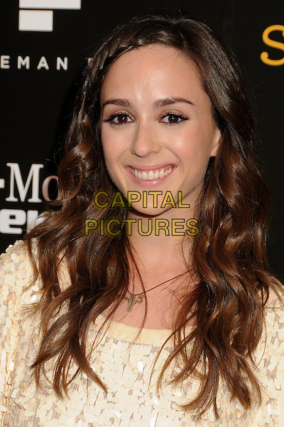 "CHRISTINA BENNETT LIND .""Skateland"" Los Angeles Premiere held at Arclight Cinemas, Hollywood, California USA, 12th May 2011..portrait headshot necklace smiling beauty plait braid .CAP/ADM/BP.©Byron Purvis/AdMedia/Capital Pictures."