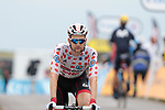 Tim Wellens (BEL) Lotto-Soudal retains the mountains Polka Dot Jersey at the end of Stage 15 of the 2019 Tour de France running 185km from Limoux to Foix Prat d'Albis, France. 20th July 2019.<br /> Picture: Colin Flockton | Cyclefile<br /> All photos usage must carry mandatory copyright credit (© Cyclefile | Colin Flockton)