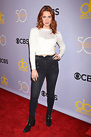 LOS ANGELES, CA - OCTOBER 04: Actress Courtney Hope attends the CBS' 'The Carol Burnett Show 50th Anniversary Special' at CBS Televison City on October 4, 2017 in Los Angeles, California.<br /> CAP/ROT/TM<br /> &copy;TM/ROT/Capital Pictures