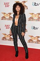 Alondra Martinez (V5)<br /> at the photocall of X Factor Celebrity, London<br /> <br /> ©Ash Knotek  D3524 09/10/2019