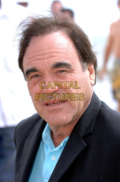 "OLIVER STONE.photocall for ""Platoon"" on Nikki Beach.59th International Cannes Film Festival, France.21st May 2006.Ref: FIN.portrait headshot.www.capitalpictures.com.sales@capitalpictures.com.©Steve Finn/Capital Pictures"