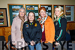 Noreen O'Leary Norah Browne Secretary Listowel GAA, Patsy Thornton, and Michelle Hennessy at the Christopher Hennessy International Memorial Tournament held in Frank Sheehy GAA Park  Listowel on Saturday.