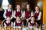 Scoil Mhathair De, Abbeyfeale, Tori Smith, Niamh Curtin, Grace Woulfe, Zuzia Waniek, Naomi Ryan, Sarah Gould, Roisin O'Sullivan and Grace Quirke at the Chapter 23 Credit Union Table Quiz at Ballyroe Heights Hotel on Sunday
