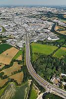 Vézin-le-Coquet - Rennes - N24 - Route de Lorient