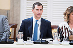 King Felipe VI of Spain during the COTEC Board meeting at El Pardo Palace in Madrid. June 08. 2016. (ALTERPHOTOS/Borja B.Hojas)