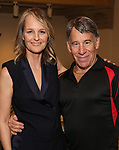 """Helen Hunt and Stephen Schwartz attends the Opening Night performance afterparty for ENCORES! Off-Center production of """"Working - A Musical""""  at New York City Center on June 26, 2019 in New York City."""
