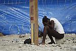 The cholera epidemic in Haiti has already killed 4.500 people and sickened more than 250.000. Familiares de enfermos de Colera esperan a las puertas de un centro de asistencia de emergencia en  Puerto Principe.