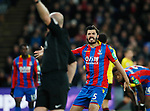 Crystal Palace's James Tomkins appeals to referee Lee Mason during the premier league match at Selhurst Park Stadium, London. Picture date 12th December 2017. Picture credit should read: David Klein/Sportimage