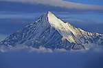 Sommet du Weisshorn (4506 m) au petit matin