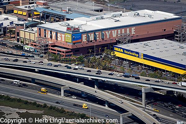 aerial photograph, Emeryville, Alameda, California