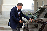 United States Senator Joe Manchin III (Democrat of West Virginia) leaves the United States Capitol in Washington D.C., U.S. on Thursday, May 21, 2020. Credit: Stefani Reynolds / CNP /MediaPunch