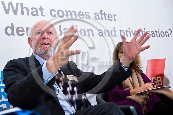 BRUSSELS - BELGIUM - 27 November 2012 -- European Dialogue 2012 - What comes after deregulation and privatisation? -- Panel discussion - Professor Ernst Ulrich von Weizsaecker. -- PHOTO: Juha ROININEN /  EUP-IMAGES.