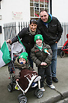 Nicola, Martin, James and Jack Briscoe at the 2010 St Patrick's Day Parade...Photo NEWSFILE/Jenny Matthews.(Photo credit should read Jenny Matthews/NEWSFILE)....This Picture has been sent you under the condtions enclosed by:.Newsfile Ltd..The Studio,.Millmount Abbey,.Drogheda,.Co Meath..Ireland..Tel: +353(0)41-9871240.Fax: +353(0)41-9871260.GSM: +353(0)86-2500958.email: pictures@newsfile.ie.www.newsfile.ie.FTP: 193.120.102.198.