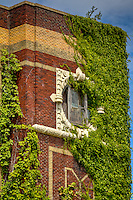 Abandoned Central High School building in Helena-West Helena Arkansas.