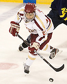 Quinn Smith (BC - 27) - The visiting Merrimack College Warriors tied the Boston College Eagles at 2 on Sunday, January 8, 2011, at Kelley Rink/Conte Forum in Chestnut Hill, Massachusetts.