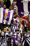 Real Valladolid's supporters celebrate promotion to the first division of Spanish football.June 16,2012. (ALTERPHOTOS/Acero)