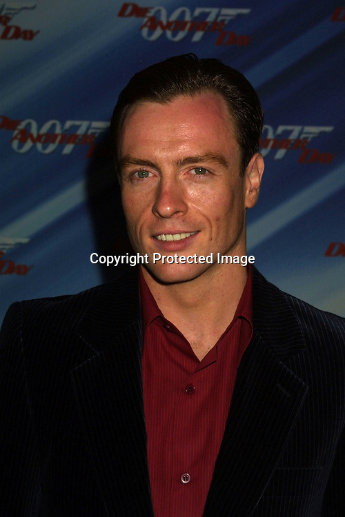 "©2002 KATHY HUTCHINS / HUTCHINS PHOTO."" DIE ANOTHER DAY ' SCREENING.LOS ANGELES, CA. 11/11/02.TOBY STEPHENS"