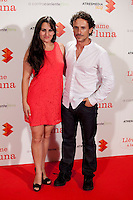 "Nuria Sanchez and Victor Ullate during Actor´s Dany Boon premiere of his new film ""Llevame a la Luna"" in Palafox Cinema in Madrid, Spain. July 10, 2013. (Victor Blanco/Alterphotos) ©NortePhoto"