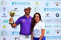 Moritz Lampert (GER) and Nigar Suleymonova, European Challenge Tour, Azerbaijan Golf Challenge Open 2014, Azerbaijan National Golf Club, Quba, Azerbaijan. (Picture Credit / Phil Inglis)