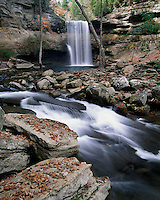 Lower Greeter Falls, Savage Gulf State Natural Area, Tennessee