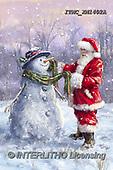 Marcello, CHRISTMAS SANTA, SNOWMAN, WEIHNACHTSMÄNNER, SCHNEEMÄNNER, PAPÁ NOEL, MUÑECOS DE NIEVE, paintings+++++,ITMCXM1402A,#X#