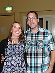 Paul Sharkey and Charlene Campbell at the benefit night for the Neonatal Intensive Care Unit in Our Lady of Lourdes hospital held in the Grove House Dunleer. Photo:Colin Bell/pressphotos.ie