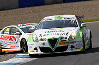 Round 8 of the 2018 British Touring Car Championship.  #11 Rob Austin. Duo Motorsport with HMS. Alfa Romeo Giulietta.