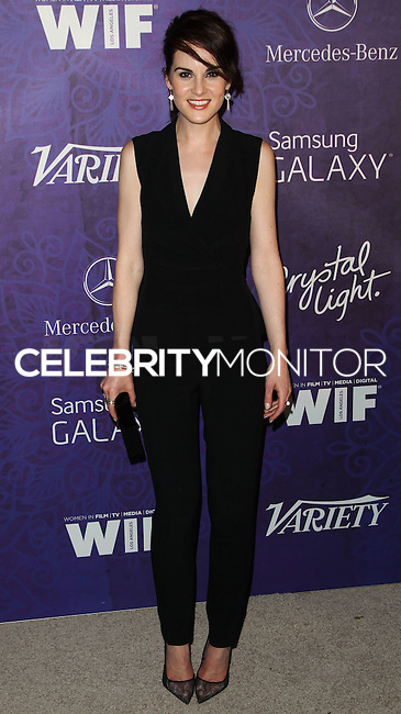 WEST HOLLYWOOD, CA, USA - AUGUST 23: Actress Michelle Dockery arrives at the Variety And Women In Film Annual Pre-Emmy Celebration 2014 held at Gracias Madre on August 23, 2014 in West Hollywood, California, United States. (Photo by Celebrity Monitor)