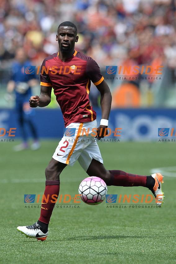 Antonio Rudiger Roma.<br /> Roma 8-05-2016  Stadio Olimpico<br /> Campionato Serie A,<br /> AS Roma - Chievo<br /> Foto Antonietta Baldassarre / Insidefoto