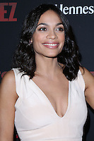"HOLLYWOOD, LOS ANGELES, CA, USA - MARCH 20: Rosario Dawson at the Los Angeles Premiere Of Pantelion Films And Participant Media's ""Cesar Chavez"" held at TCL Chinese Theatre on March 20, 2014 in Hollywood, Los Angeles, California, United States. (Photo by David Acosta/Celebrity Monitor)"