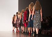 Tuesday, 19 February 2013, London, UK. Emilio de la Morena catwalk show at Somerset House during London Fashion Week. Photo: Bettina Strenske