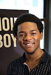 """Marcus Gladney during the MTC Broadway Cast Call for """"Choir Boy"""" at The MTC Rehearsal Studios on November 20, 2018 in New York City."""