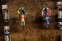 SX2 / Morgan Fogarty / James Brown<br /> Monster Energy Aus-XOpen<br /> Supercross &amp; FMX International<br /> Qudos Bank Arena, Olympic Park NSW<br /> Sydney AUS Sunday 12  November 2017. <br /> &copy; Sport the library / Jeff Crow