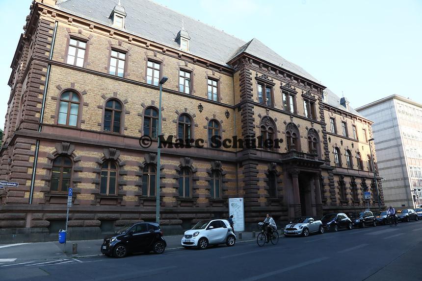 Gebäude des Landgericht Frankfurt - 21.08.2019: Prozessauftakt gegen Alexander Falk