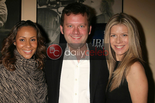 Kiki Haynes with Paul Sizemore and Susan Duerden <br /> at the Los Angeles Screening of 'Double Duty'. Raleigh Studios, Los Angeles, CA. 12-13-08<br /> Dave Edwards/DailyCeleb.com 818-249-4998